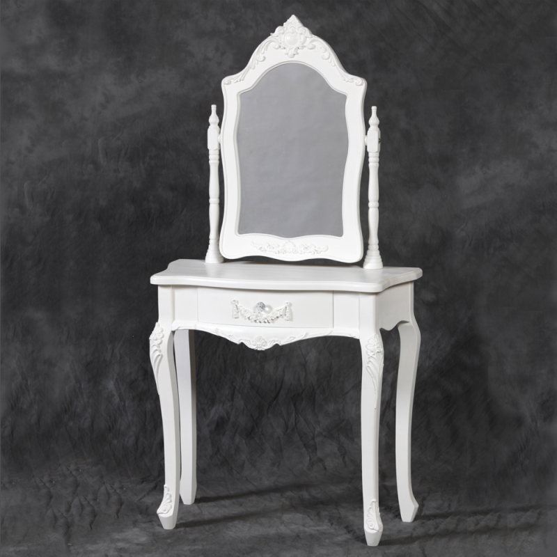 Elegant Small White Makeup Table Small White Dressing Table With Mirror Nicholas John Interiors