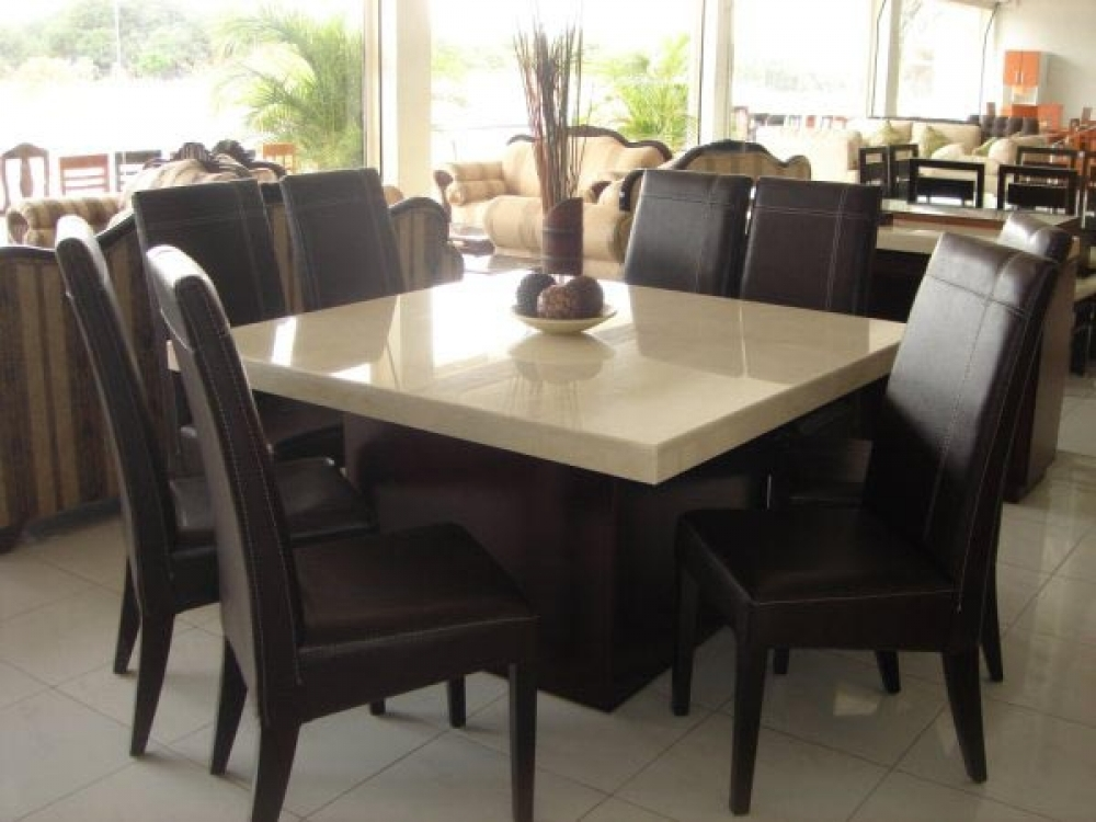 Elegant Square Dining Table For 8 8 Person Square Dining Table