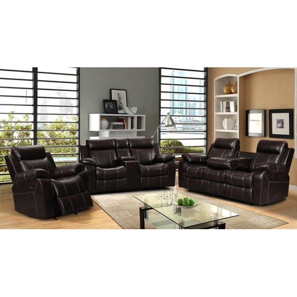Elegant Three Piece Living Room Set Living In Style Gabrielle 3 Piece Living Room Set Reviews Wayfair