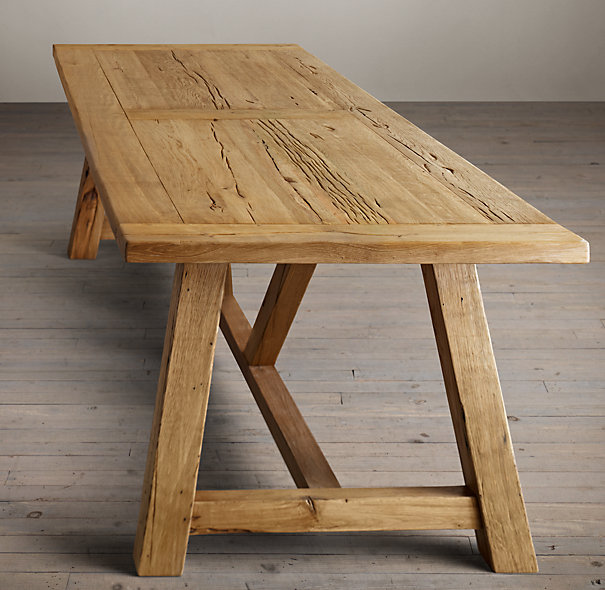 Elegant Trestle Dining Table Dining Tables Top Trestle Dining Table For Sale Distressed