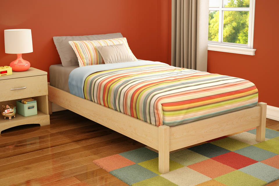 Elegant Twin Platform Bed Frame Diy Twin Platform Bed Construction Bedroom Ideas And Inspirations