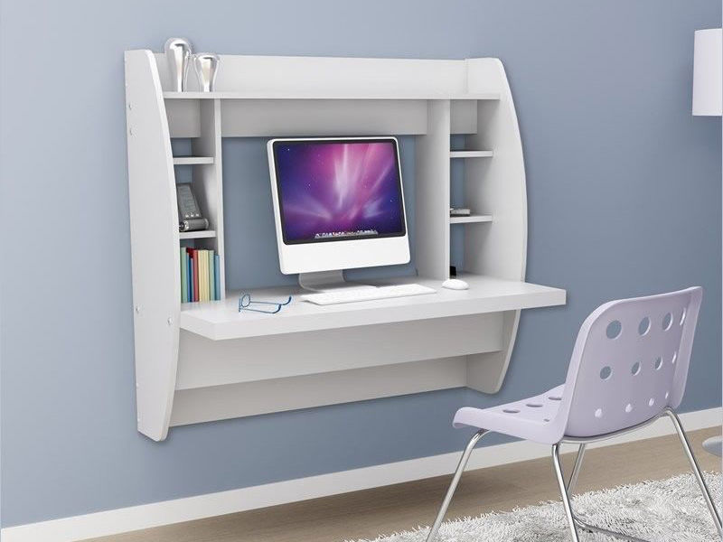 Elegant Wall Mounted Desk How To Build A Wall Mounted Desk Ebay