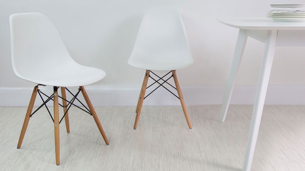 Elegant White Dining Chairs Eames Dining Chair High Quality Uk Fast Delivery