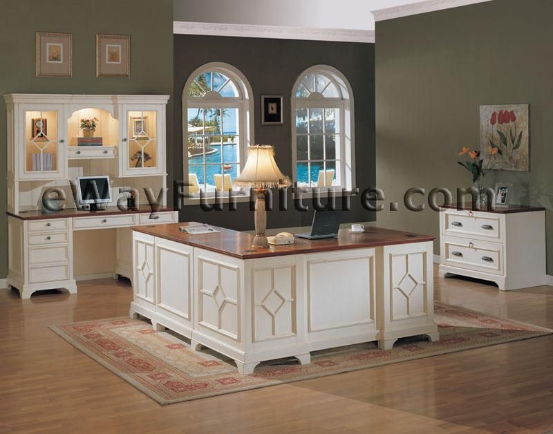 Elegant White Home Office Furniture White Office Furniture Collections Distressed White Executive Home