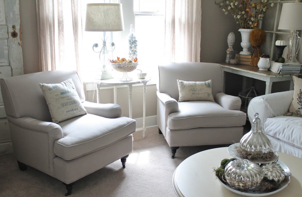 Elegant White Living Room Chairs Comfortable Chairs For Living Room Homesfeed