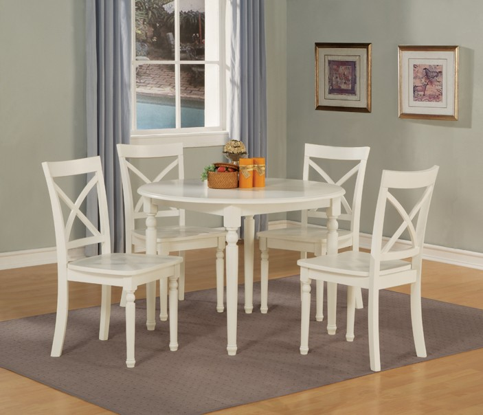 Elegant Wood And White Dining Chairs Wonderful White Wood Dining Table And Chairs Endearing White