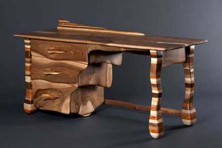 Elegant Wood Desk Designs Pablura Tops Design February 2011