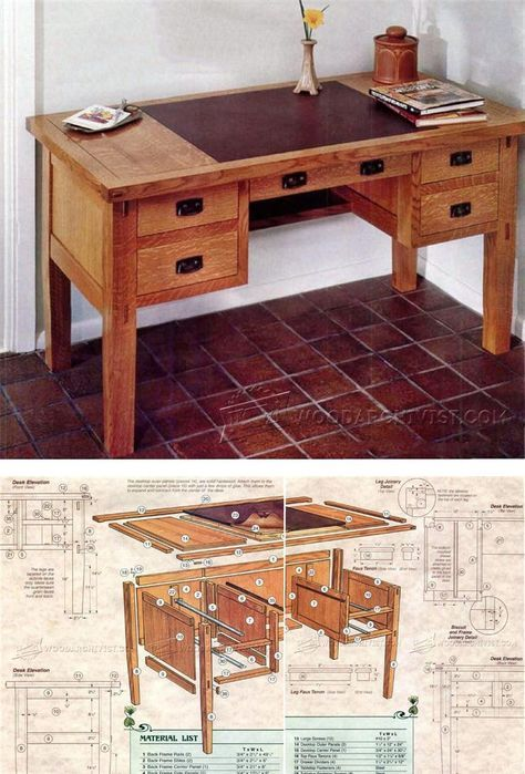 Elegant Writing Desk Plans Best 25 Desk Plans Ideas On Pinterest Build A Desk Diy Desk