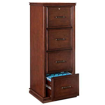 Fabulous 4 Drawer Wood File Cabinet With Lock 4 Drawer Wood File Cabinet With Lock Roselawnlutheran