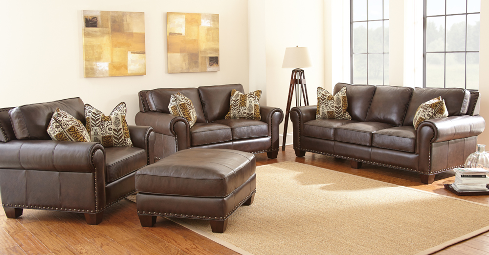 Fabulous 4 Piece Leather Living Room Set 4 Piece Leather Living Room Set Insurserviceonline