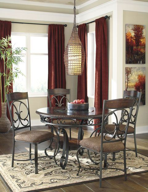 Fabulous 5 Piece Living Room Furniture Sets Glambrey 5 Piece Dining Set D329 5pc Ashley Furniture Afw