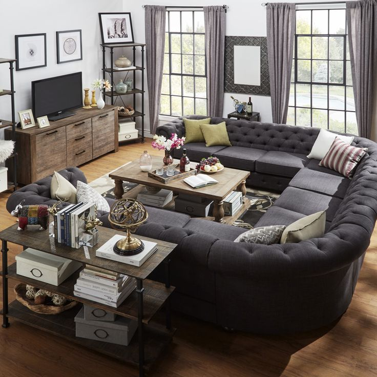 Fabulous 7 Person Sectional Sofa Best 25 U Shaped Sectional Ideas On Pinterest U Shaped Couch U