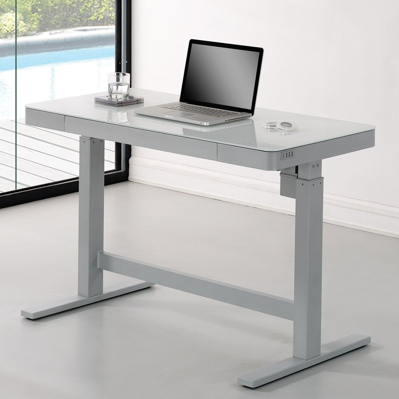 Fabulous Adjustable Standing Desk Wildon Home Adjustable Standing Desk Reviews Wayfair