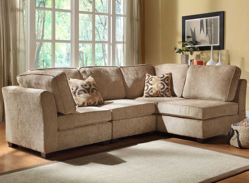 Fabulous Ashley Furniture Beige Sectional Sectional Sofa Design Square Portable Wool Seat Short Foot Gray