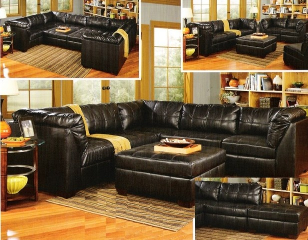 Fabulous Ashley Furniture Black Leather Couch 301 Best House Ideas Images On Pinterest Area Rugs Beach