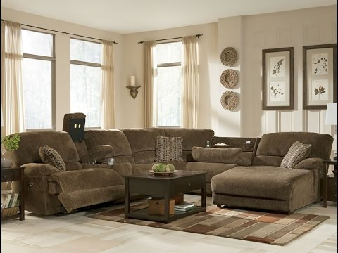 Fabulous Ashley Furniture Brown Sectional Ashley Furniture Sectional Couch Youtube
