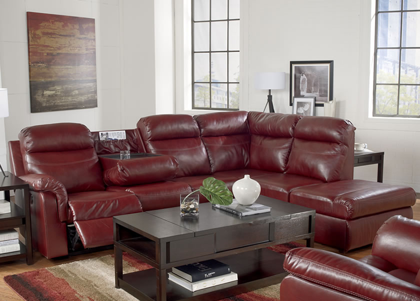 Fabulous Ashley Furniture Electric Recliner Sofa Sofa Beds Design Popular Unique Leather Sectional Sofa With Power