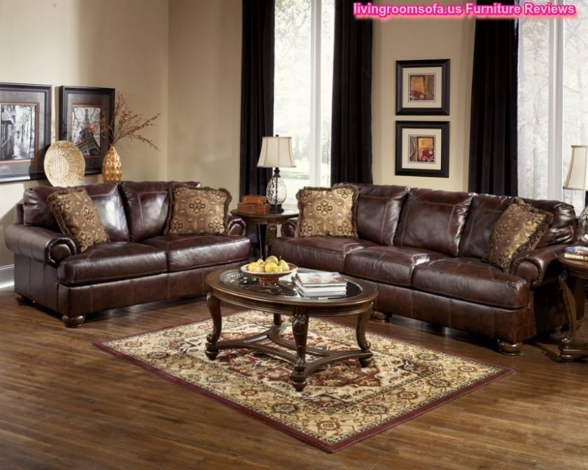 Fabulous Ashley Furniture Leather Couch And Loveseat My New Sofa And Loveseat Ashley Furniture Durablend Antique