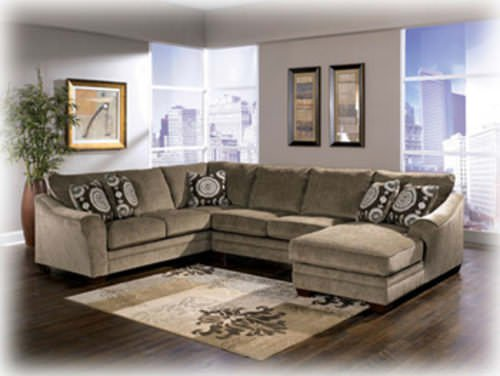Fabulous Ashley Furniture Microfiber Sectional Sofa Beds Design Fascinating Unique Ashley Furniture Sectional