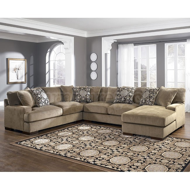 Fabulous Ashley Sectional Sofa With Chaise 4 Pc Sectional Sofa Chamberly Piece Ashley Furniture 3 With Chaise