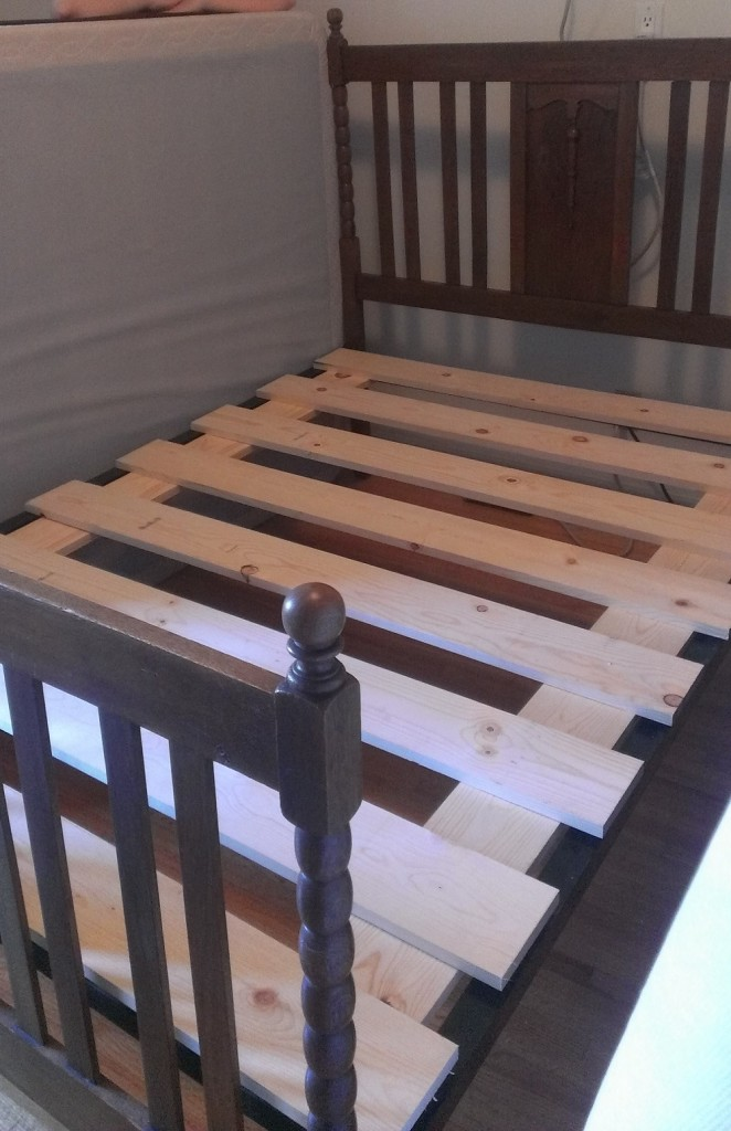 Fabulous Bed Slats For Queen Size Bed Let Me Fix You Box Spring To Bed Slats The Underenlightened