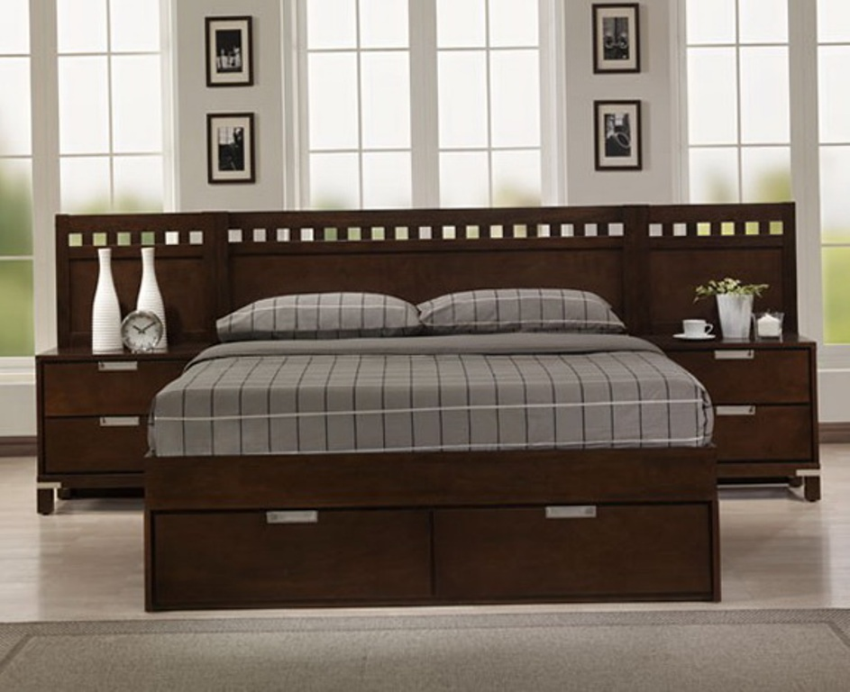 Fabulous Cal King Bed Frame With Storage Cal King Size Bed Headboard And Footboard Make King Size Bed