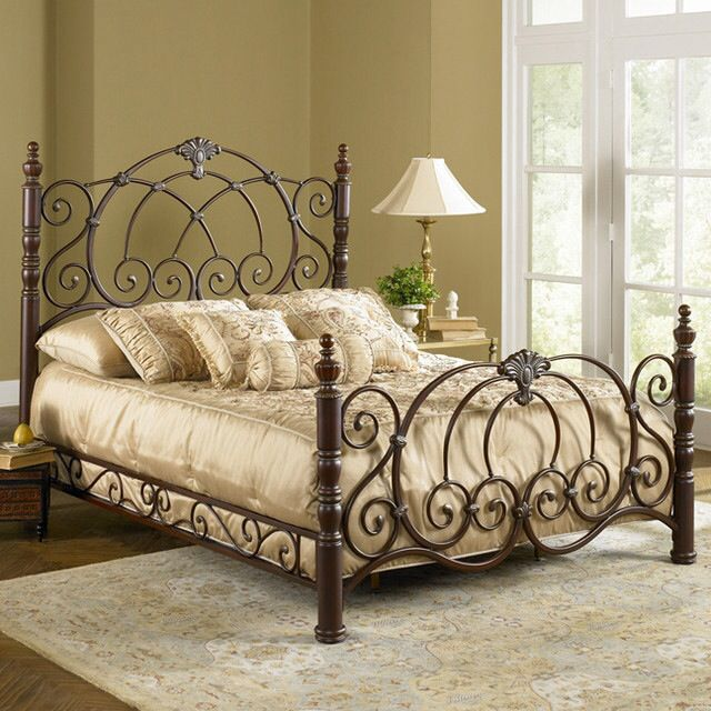 Fabulous Cal King Iron Bed 162 Best Beds Images On Pinterest Wrought Iron Beds Wrought