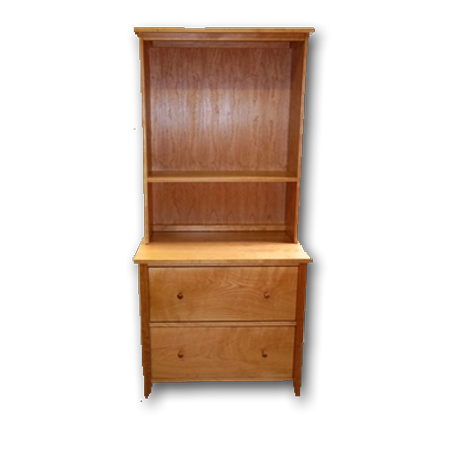 Fabulous Cherry File Cabinet Cherrystone Furniture Cherry File Cabinet With Optional Hutch
