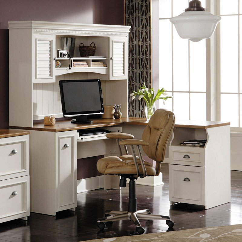 Fabulous Computer Desk And File Cabinet Bush Fairview L Shaped Computer Desk With Optional Hutch Antique