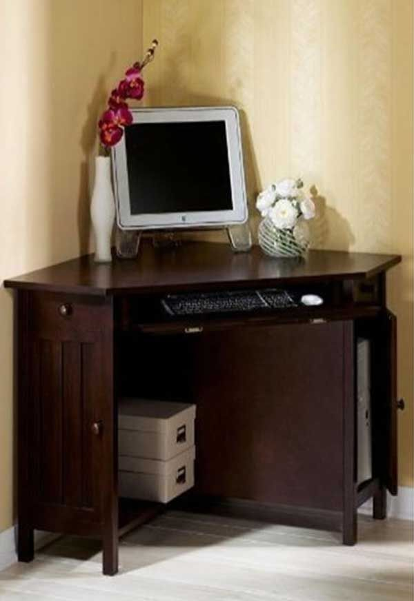 Fabulous Corner Desktop Computer Desk 22 Best Small Corner Computer Desk Images On Pinterest Corner
