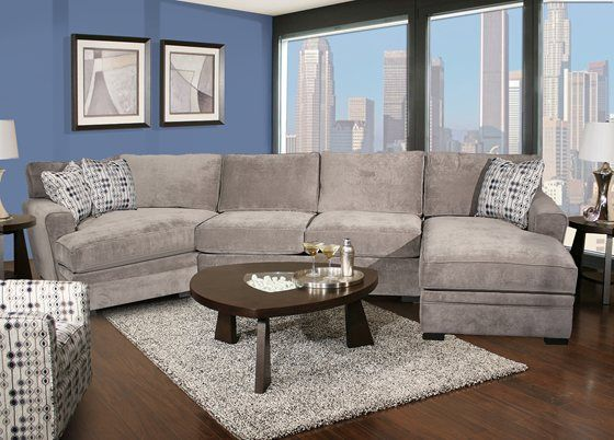 Fabulous Corner Sectional With Chaise I Love This Couch And It Comes In The Reverse Which I Need