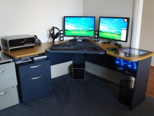 Fabulous Crazy Computer Desk The 25 Best Computer Built Into Desk Ideas On Pinterest Pc