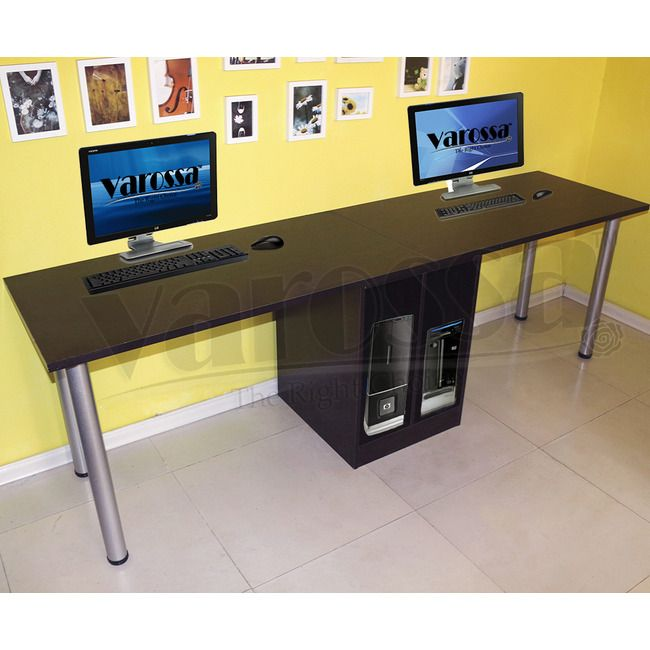 Fabulous Double Computer Desk Workstation Collection In Workstation Computer Desk Varossa Double Workstation
