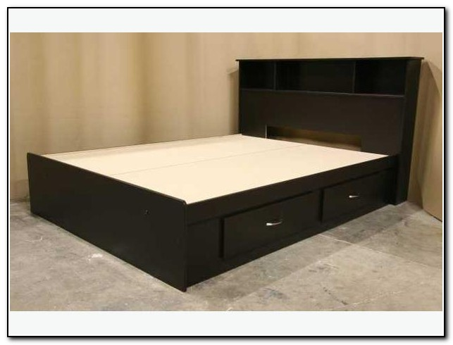 Fabulous Full Size Mattress Frame Bed Full Bed Frame With Drawers Home Design Ideas