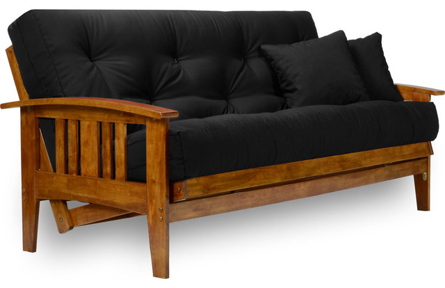 Fabulous Futon Frame And Mattress Set Westfield Wood Futon Set Frame 8 Mattress Craftsman Futons