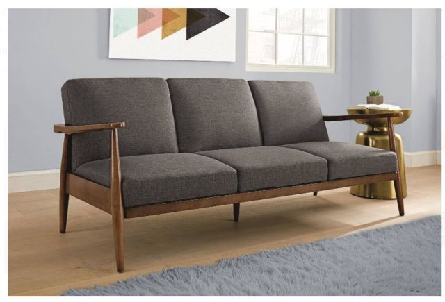 Fabulous Futon Sleeper Sofa Bed Futon Sleeper Sofa Grey Mid Century Modern Convertible Couch Lounge