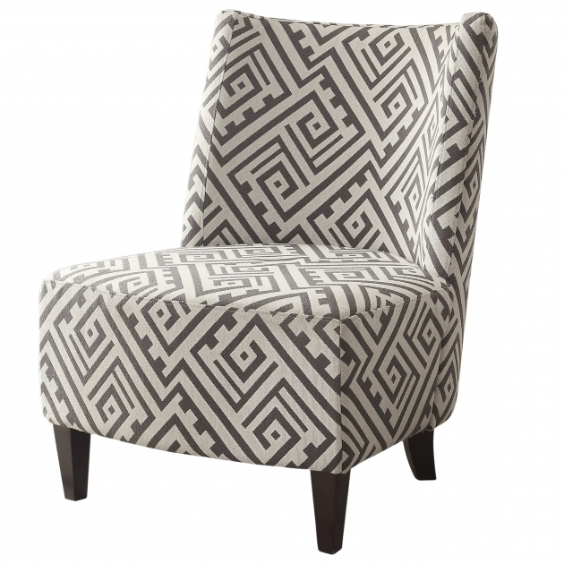Fabulous Grey And White Accent Chair Living Room Gray And White Accent Chairs Without Arms Picture 21