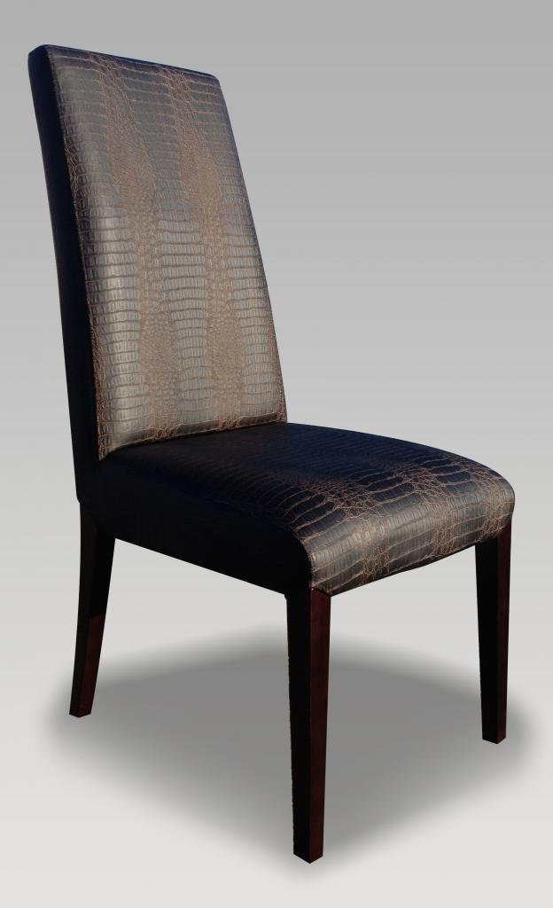 Fabulous High Back Leather Dining Chairs Leather High Back Dining Chairs Island Kitchen