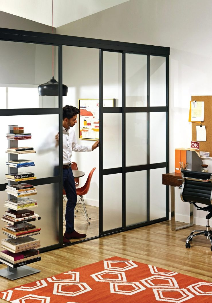 Fabulous Home Office Divider Half Room Divider Sliding Glass Dividers In Home Office The Door