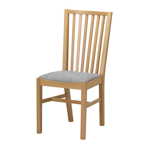 Fabulous Ikea Oak Chairs Norrns Chair Oakisunda Grey Ikea