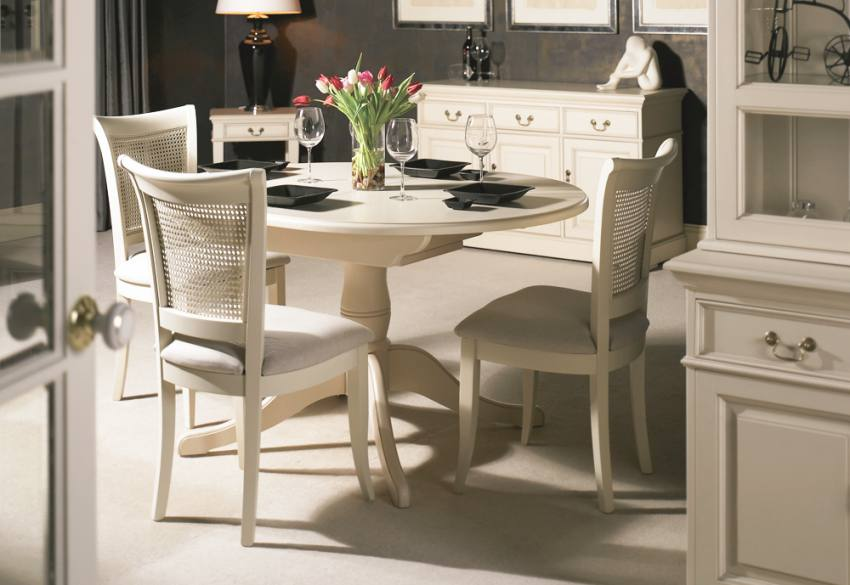Fabulous Ivory Kitchen Chairs Ivory Dining Table And Chairs Island Kitchen