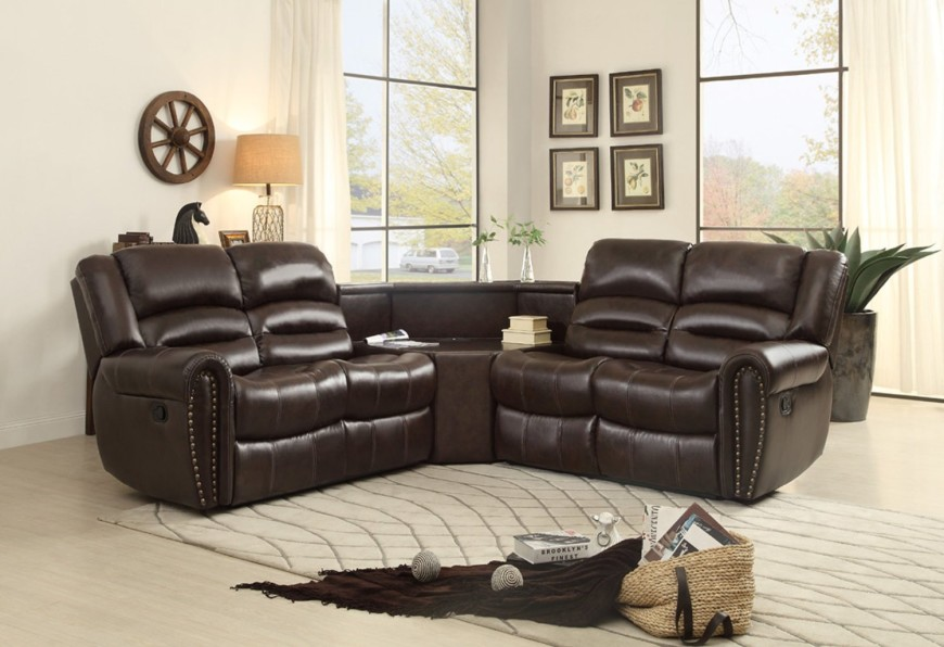 Fabulous L Couch With Recliner Top 10 Best Recliner Sofas 2017