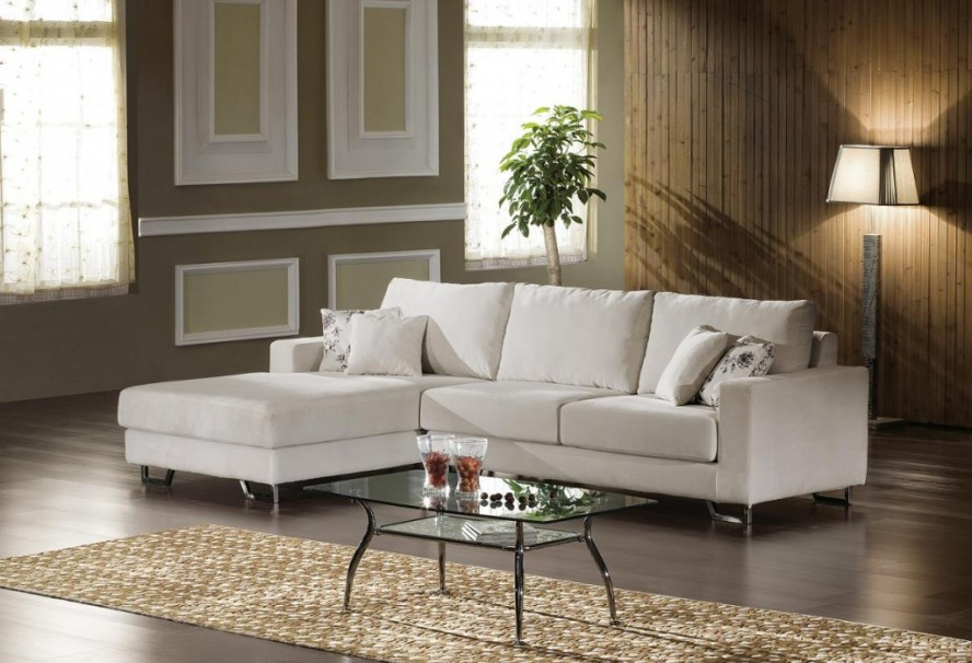Fabulous L Shaped Chaise Sofa Furniture Casual Small Sectional Sofa L Shaped Design With