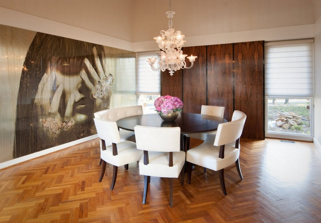 Fabulous Large Modern Dining Room Tables Download Modern Round Dining Room Sets Gen4congress