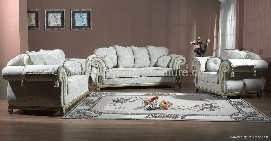Fabulous Leather And Fabric Living Room Sets Antique Royal Solid Wood Furniture Leatherfabric Sofa Set Living Room