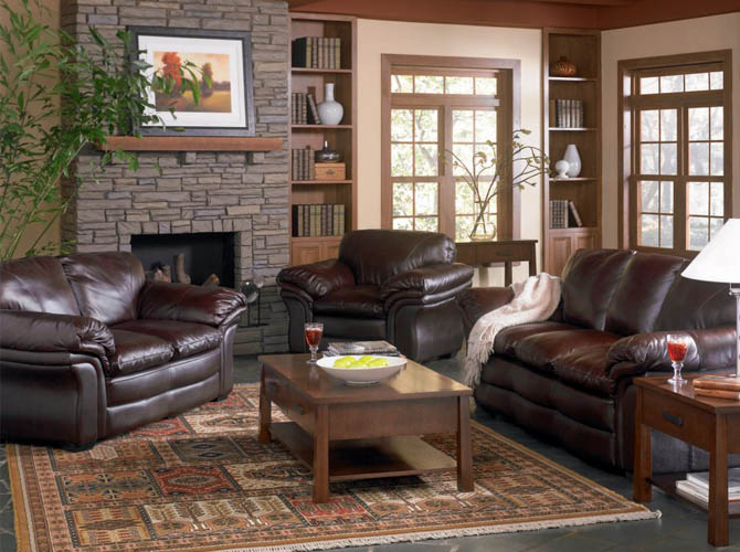 Fabulous Leather Couch Living Room Brown Leather Couch Living Room Ideas Alluring Living Room Ideas