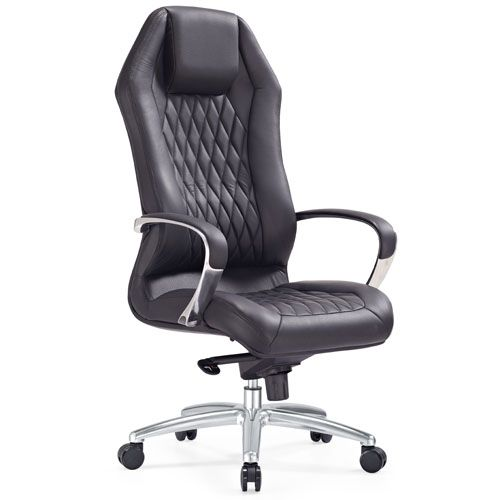 Fabulous Leather Executive Chair Modern Ergonomic Sterling Leather Executive Chair With Aluminum