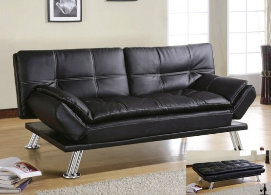 Fabulous Leather Sofa Contemporary Design Amusing Knowing A Modern Contemporary Sofa Types Furniture Intenzy