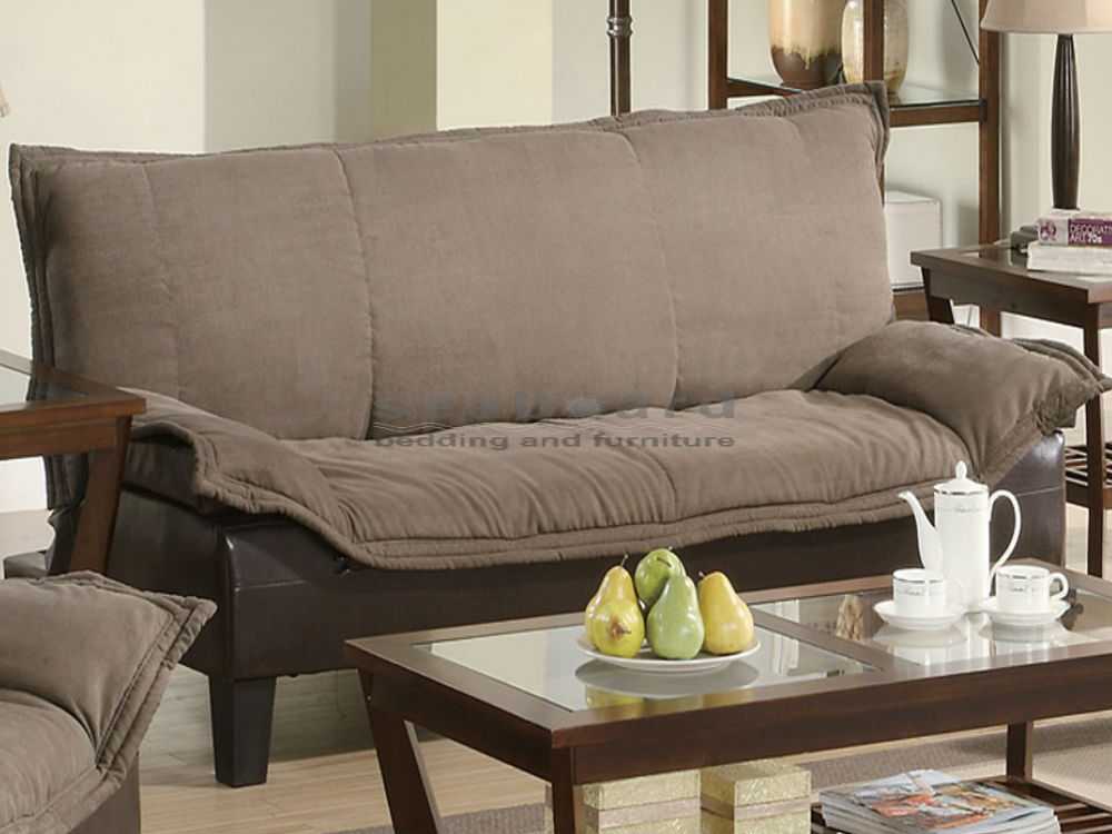 Fabulous Living Spaces Sofa Bed Coaster 300301 Two Tone Brown Sofa Bed Futon