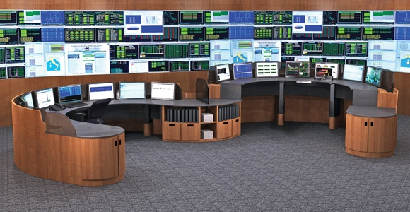 Fabulous Multi Screen Desk Your Workstation Is No Longer Limited Your Space Constraints